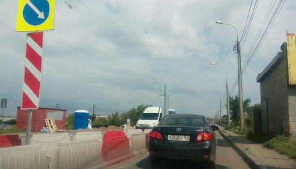 ВСамаре открытие Южного моста переносится из-за дождя