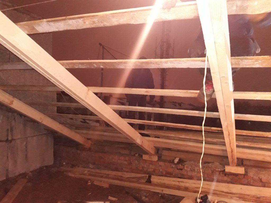 Ремонт кровли гаражей и зданий